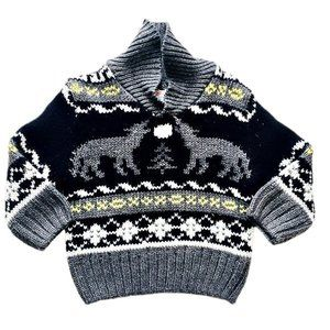 Howling Wolf Chunky Knit Sweater